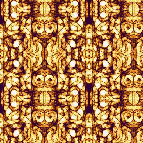 Brown Tan Scribble fabric by cricketnoel on Spoonflower - custom fabric