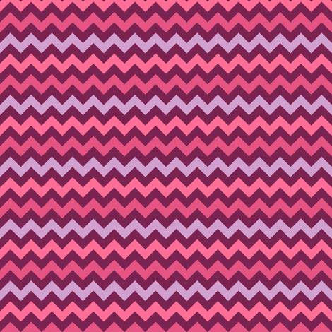 Monster Chevron - Girly - Small fabric by jesseesuem on Spoonflower - custom fabric