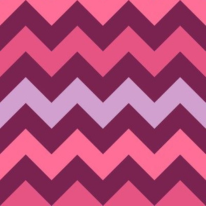 Monster Chevron - Girly - Large