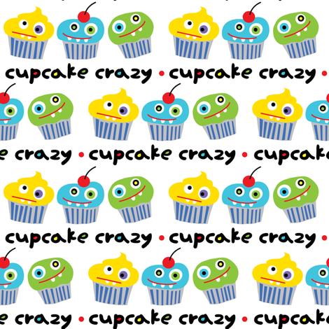 Cupcake Crazy fabric by andibird on Spoonflower - custom fabric