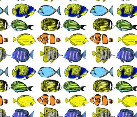 spoonflower_entry fabric by bridgesdesigns on Spoonflower - custom fabric