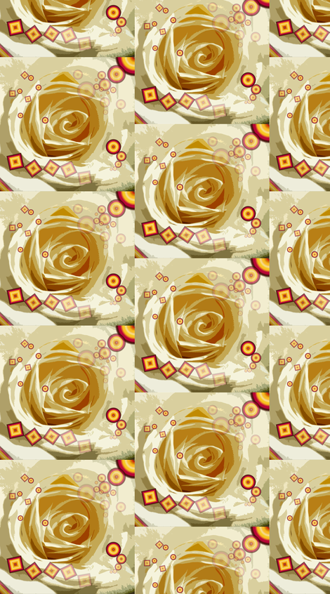 white roses fabric by hildebrandt on Spoonflower - custom fabric