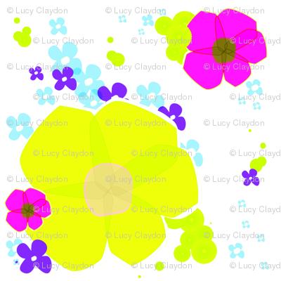 In Full Bloom - Lime