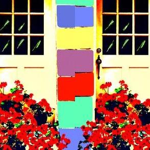 Geraniums at My Cottage Door