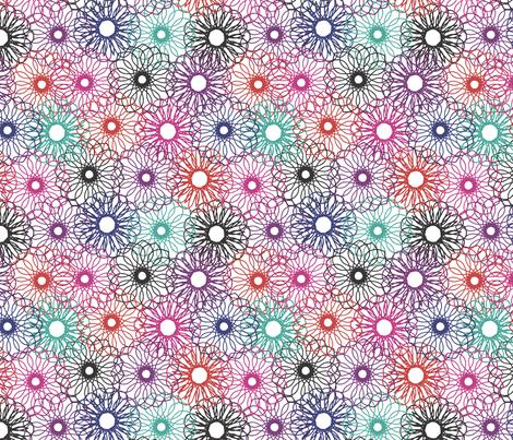Rope Floral fabric by purplish on Spoonflower - custom fabric