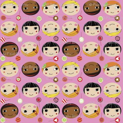 molla-girls pink