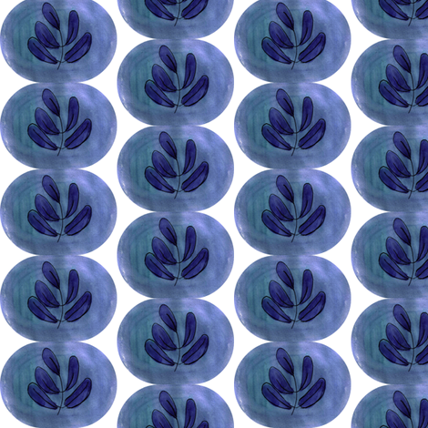 olive shrub fabric by mimi&me on Spoonflower - custom fabric