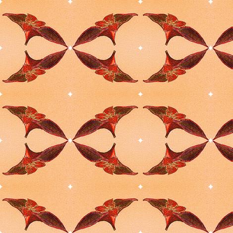 Setcreasea pallida  fabric by mimi&me on Spoonflower - custom fabric