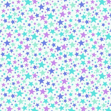 mixedstars5 fabric by babysisterrae on Spoonflower - custom fabric