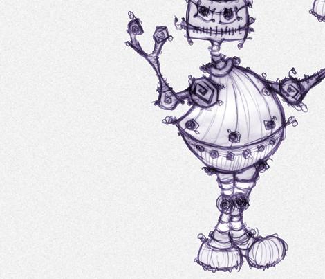 Bot fabric by sarahthomas on Spoonflower - custom fabric