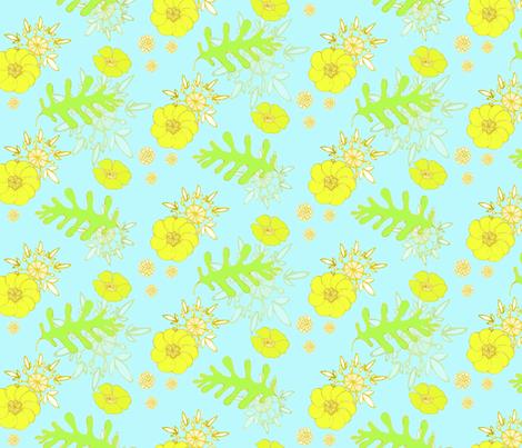 botanical fabric by caresa on Spoonflower - custom fabric