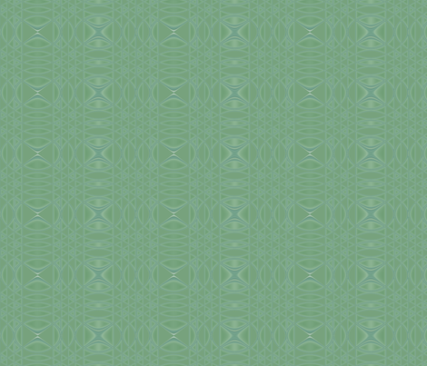 Morning Song in green © Gingezel 2010 fabric by gingezel on Spoonflower - custom fabric