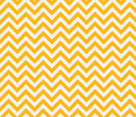 marigold chevron fabric by xoelle on Spoonflower - custom fabric