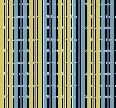 blue and green retro stripes