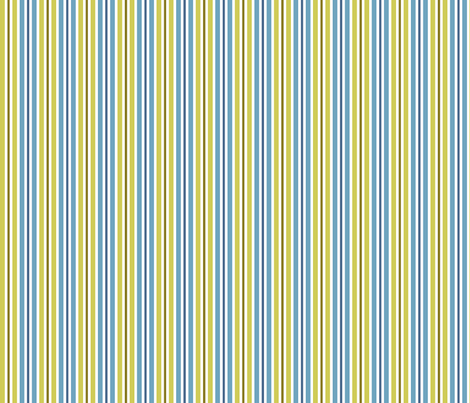 blue and green retro stripes fabric by suziedesign on Spoonflower - custom fabric