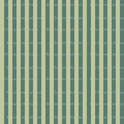 green retro stripes