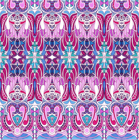 Wings and Things fabric by edsel2084 on Spoonflower - custom fabric