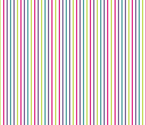 colorful stripes fabric by suziedesign on Spoonflower - custom fabric