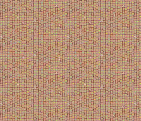 ©2011  Geode - Watermelon fabric by glimmericks on Spoonflower - custom fabric