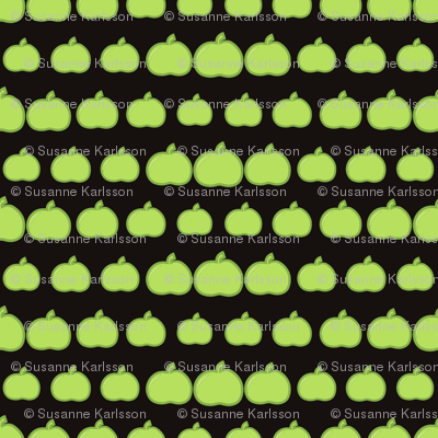 apples pattern