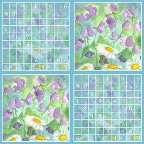 Sudoku Sweet Peas