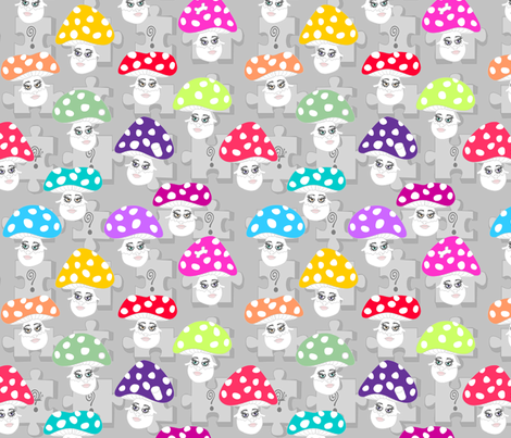 ©2011 Find the Hidden Objects fabric by glimmericks on Spoonflower - custom fabric