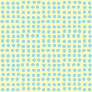 Yellow and blue fabric