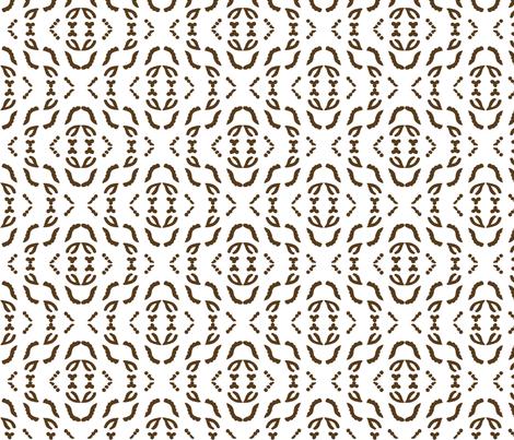 Diagonal_stripe_field_brown_WHITE fabric by mina on Spoonflower - custom fabric