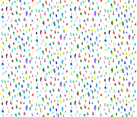 Coloured Drops fabric by katiebw on Spoonflower - custom fabric