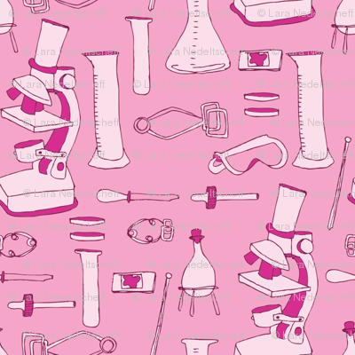LaraGeorgine_weird_science_BRIGHT PINK