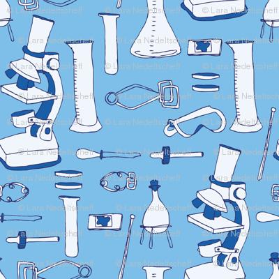 LaraGeorgine_weird_science_BRIGHT BLUE