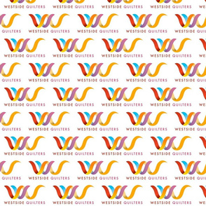 Westside Quilters Logo fabric
