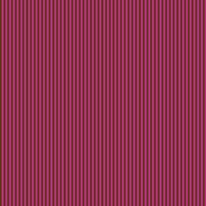 Dark brown stripes on hot pink.