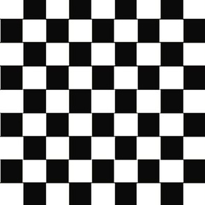 black_and_white_checkered pattern