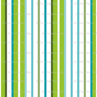Fresh Frutti stripes