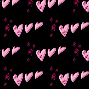 Pink music_and_hearts_on_black
