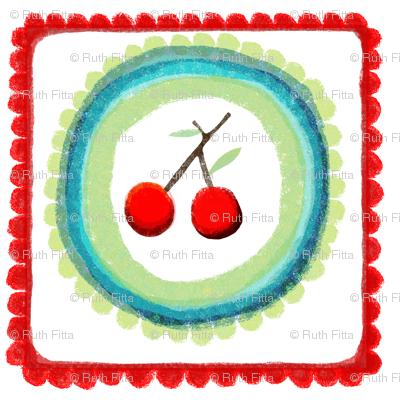 "18"" cloth napkin pattern"