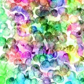 Daubed Dots Greenie