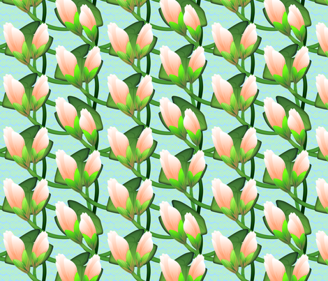 © 2011 Waterlily - bright fabric by glimmericks on Spoonflower - custom fabric