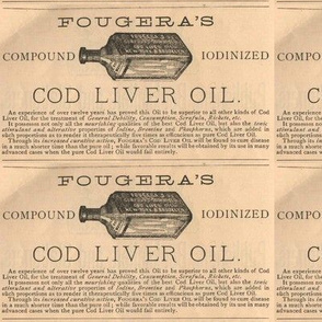 Fougera's Cod Liver Oil advertisement