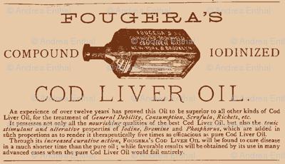 Cod Liver oil ad