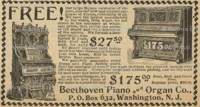 Beethoven Piano ad