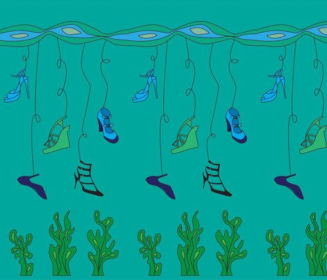 My Kind of Fishing fabric by nerida_jeannie on Spoonflower - custom fabric