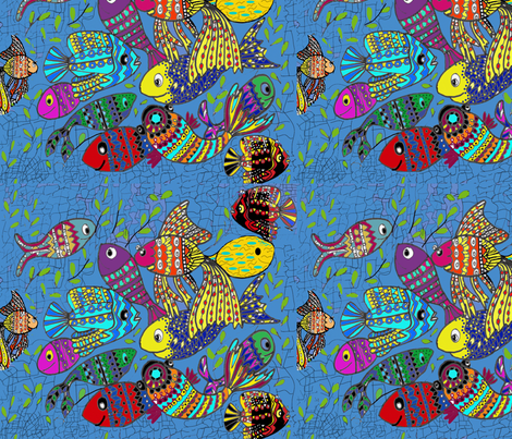 Catch me if you can! fabric by createdgift on Spoonflower - custom fabric