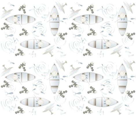 fishing_fabric fabric by rward on Spoonflower - custom fabric