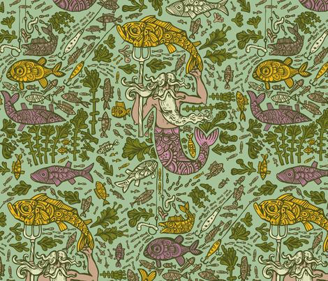 ahti fabric by ruusulampi on Spoonflower - custom fabric