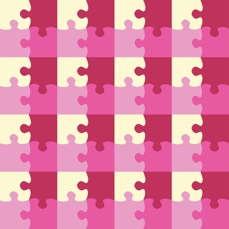 Puzzle_Motif_8 fabric by animotaxis on Spoonflower - custom fabric