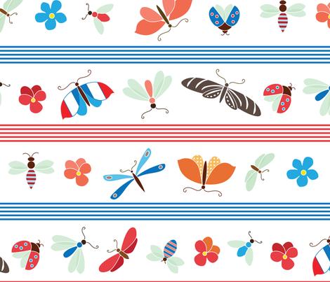 Frenchy white fabric by kayajoy on Spoonflower - custom fabric