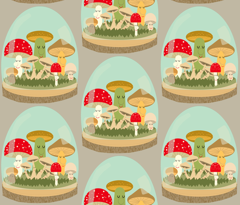terrariums  fabric by heidikenney on Spoonflower - custom fabric