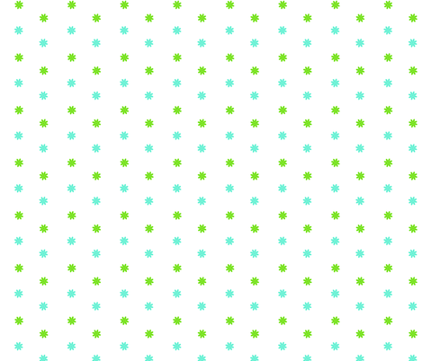 flower dots fabric by fleamarkettrixie on Spoonflower - custom fabric